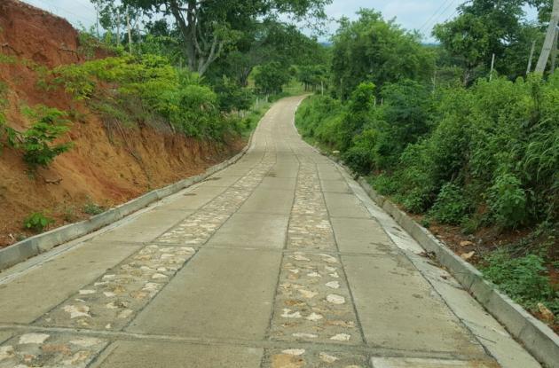 Vía Montería- Santa Isabel pavimentada.