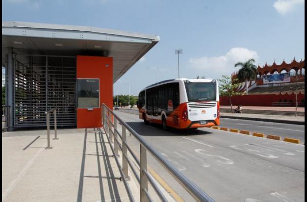 Estación Villa Olímpica de Transcaribe