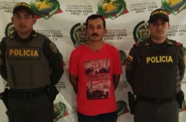 En el municipio de Simití, sur de Bolívar, la Policía capturó a José Nemecio Leguizamón, apodado 'el Demonio de San Lucas'. El sujeto, de 47 años, es señalado de abusar de su propia hija, una niña de tan solo 4 años.