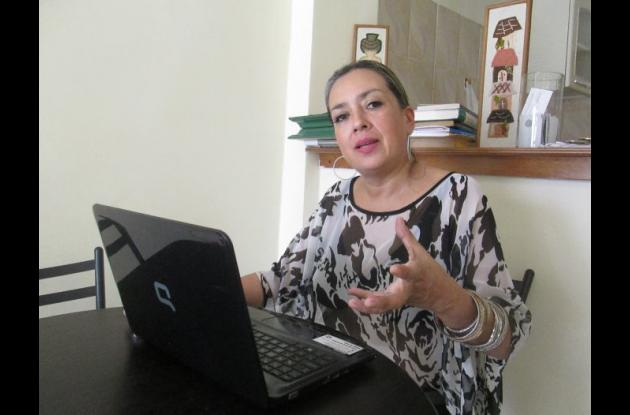 Lorena Bloom, presidenta de la Fundación Mujeres Fénix.