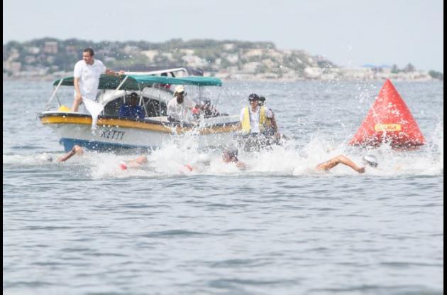 Cartagena se alista para el Nacional de Aguas Abiertas.