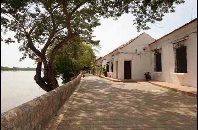 Albarrada de Mompox.