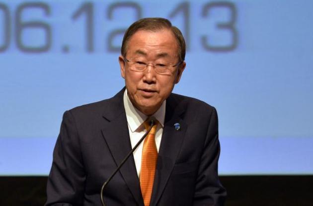 Secretario General de las Naciones Unidas, Ban Ki-moon,
