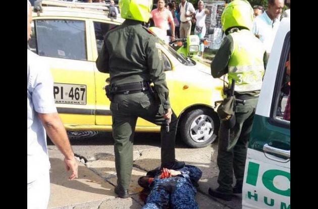 Dos guardianes falsos capturados en Bocagrande cuando intentaban atentar contra alias Pichi.