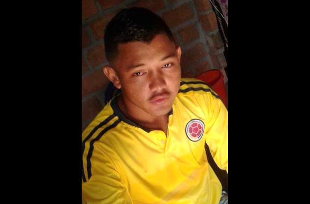Carlos Alfredo Escandón Puentes,, joven asesinado.