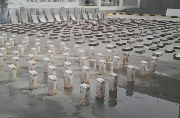 Droga incautada en puertos de Cartagena