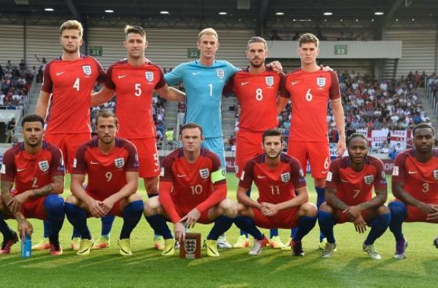 Selección de Inglaterra.