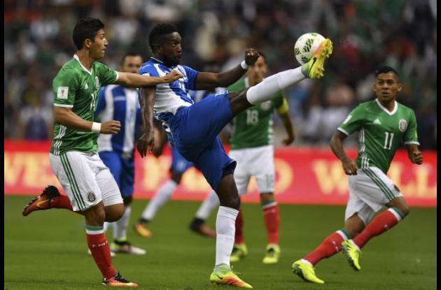 El encuentro México-Honduras quedó 0-0.