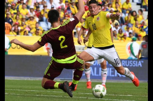 James Rodríguez, crack de Colombia.
