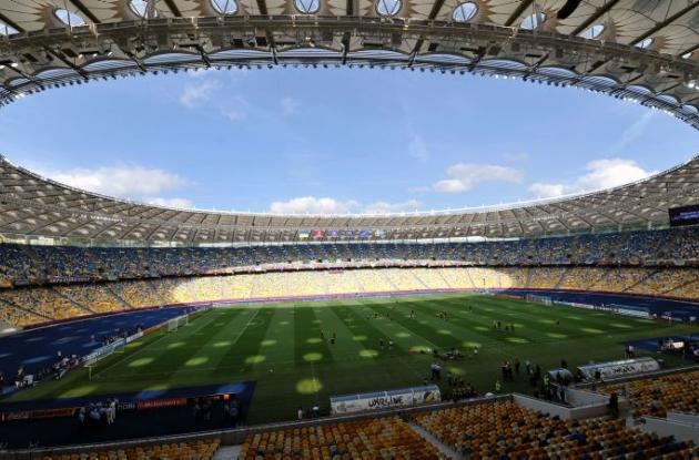 Estadio Olímpico de la capital de Ucrania.
