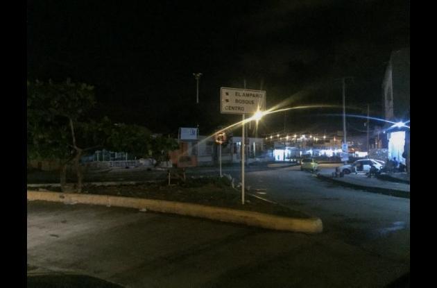 Falta de alumbrado público en Cartagena