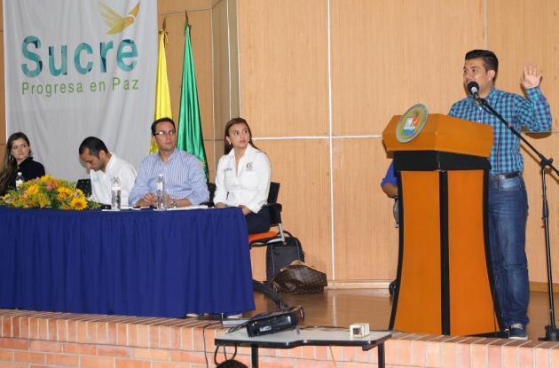 Autoridades de Sucre participaron en el Foro sobre infraestructura de telecomunicaciones.