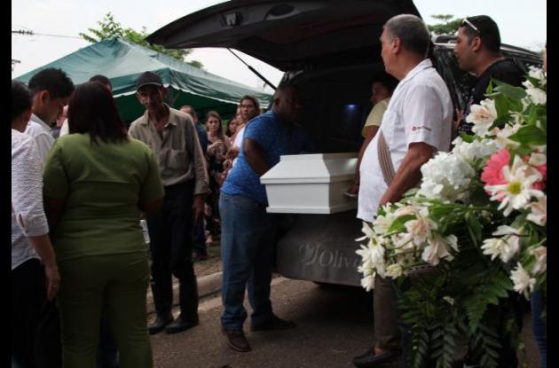 Sepelio de niña de 4 años que murió en accidente en Bocagrande.