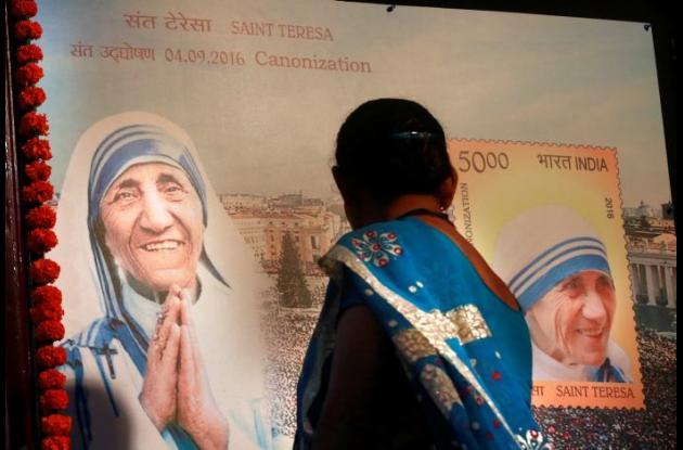 Imagen de la madre Teresa de Calcuta.