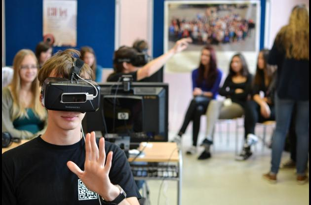 La realidad virtual es una de las tecnologías que traerá grandes retos a nivel de contenidos para la educación.