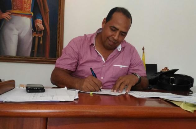 Willington Romero, alcalde de Soplaviento.