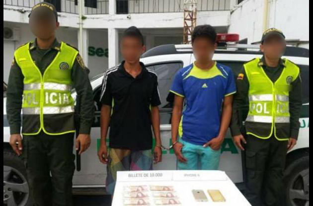 Los capturados quedaron a disposición de las autoridades.