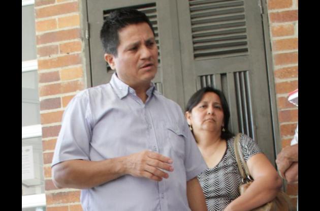 Juan Carlos Olivera, hermano de Alberto Olivera. Alberto murió en accidente en Malagana.