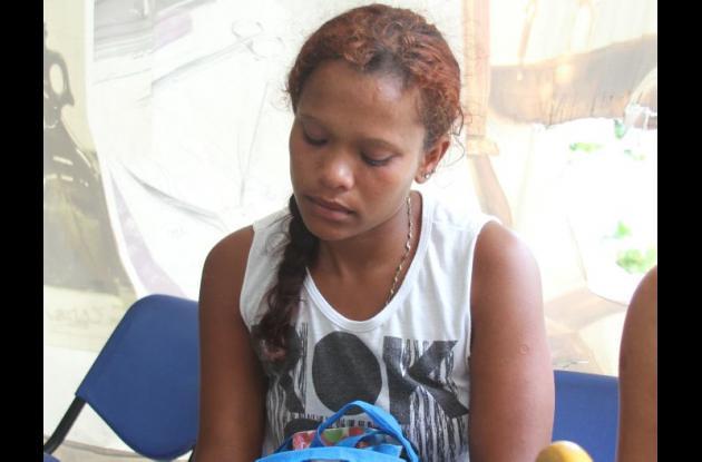 Roxana, hermana de José Gregorio Ruiz Alfaro, quien fue asesinado por sicario en Mahates.