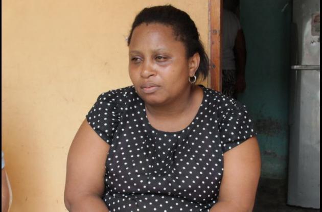 Zulay Quinto, madre de Darwin Quinto, asesinado en 7 de Agosto en riña.