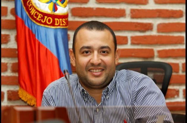 Erich Piña, concejal de Cartagena