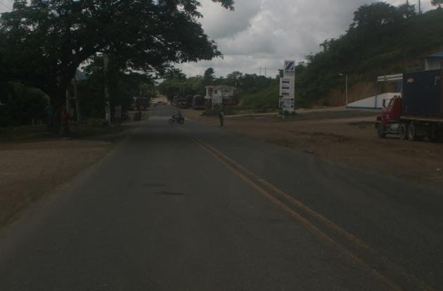 El accidente en el que murió Abel Carmona Pertuz ocurrió en el barrio San José de San Juan Nepomuceno.