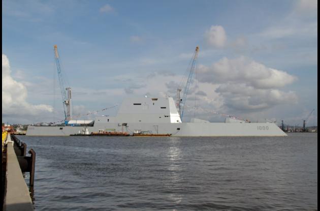 Este nuevo tipo de barco de la fuerza naval estadounidense cuenta con los últimos instrumentos tecnológicos y de supervivencia, además de con un sistema de propulsión eléctrica de vanguardia, casco de perforación ondulante y diseño de sigilo.