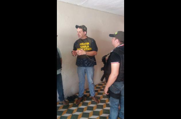 Benny Osorio, juez secuestrado en Daniel Lemaitre y rescatado.