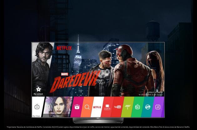 El televisor 4K B6 de LG que recientemente llegó a Colombia utiliza el sistema operativo de desarrollo propio WebOS 3.0