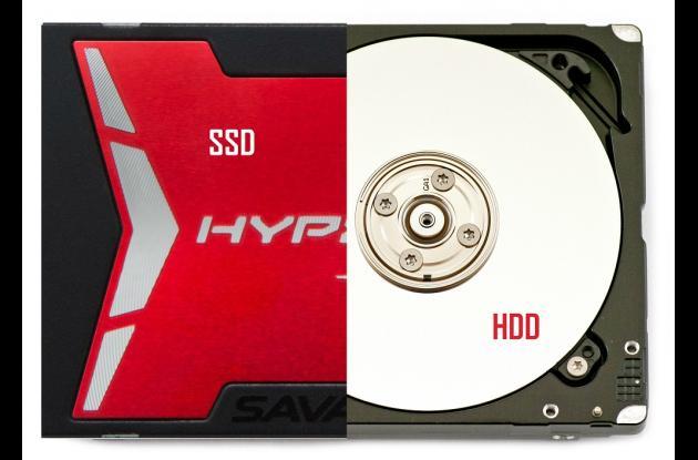 SSD o Solid State Drive se puede traducir como unidad de estado solido. HDD o Hard Disk Drive se puede traducir como disco duro mecánico.