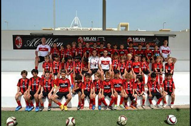 El Campamento Milan Junior tendrá como sede al estadio Jaime Morón.