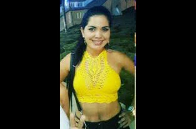 Angie Torres, herida en accidente en Arjona.