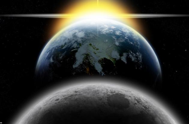 La luna es nuestro principal satélite natural y el sol es la estrella que permite la vida en el planeta tierra.