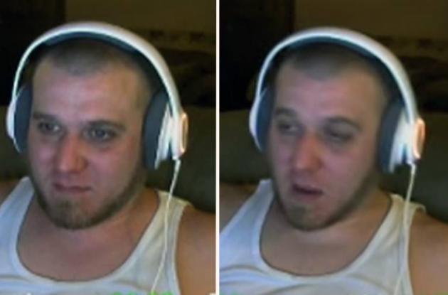 Gamer 'PoShYbRies' durante su última transmisión en vivo.