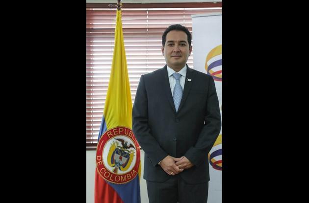 Carlos Cante Puentes, viceministro de minas.