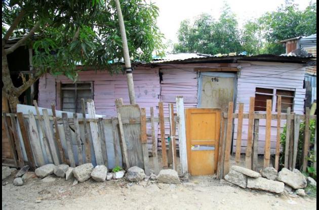 Casa en Nuevo Paraíso donde vivía Nelson Guerrero. A este lo habrpia matado su hijo Yesid.
