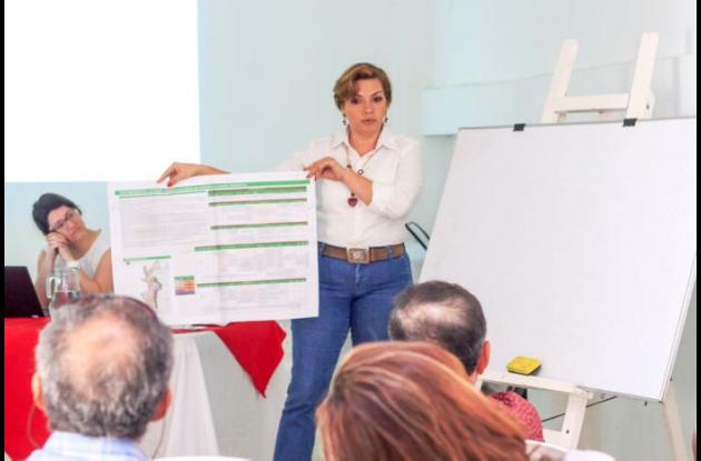 Para la secretaria de Planeación de Sincelejo, Stella Romero, la jornada de socialización fue bastante productiva.