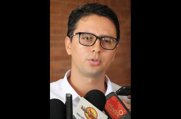 Carlos Guerra, secretario de Gobierno de Sucre.