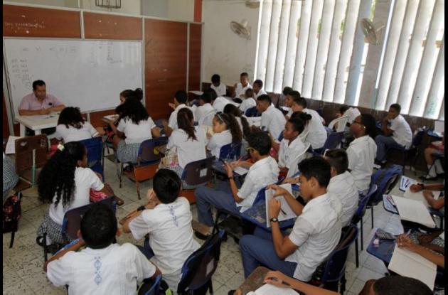 Obras inconclusas en colegios