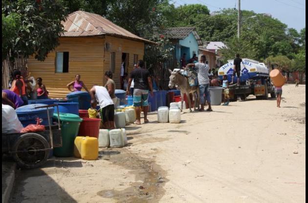 Falta de agua potable en el municipio de Villanueva.