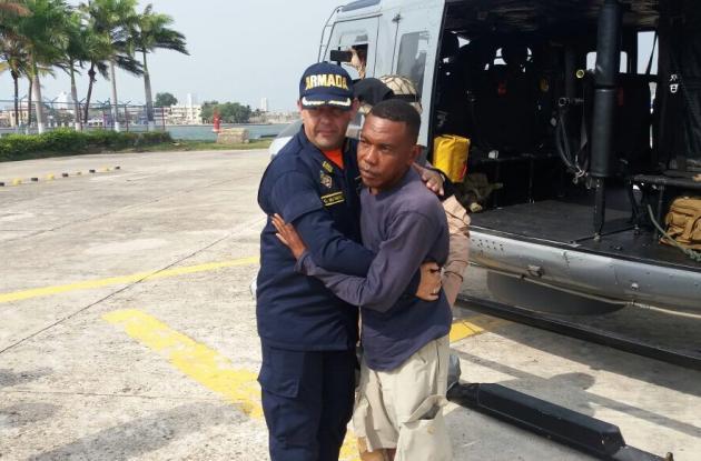 Uno de los tres sobrevivientes del naufragio de velero cerca de Cartagena, en el que desapareció Eric Thiriez, francés.