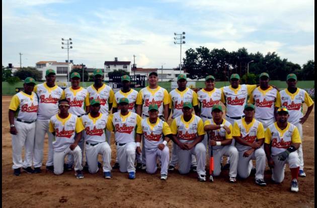 El equipo de Bolívar marcha invicto en el Nacional de Sóftbol Masculino, que se realiza en Barrancabermeja.