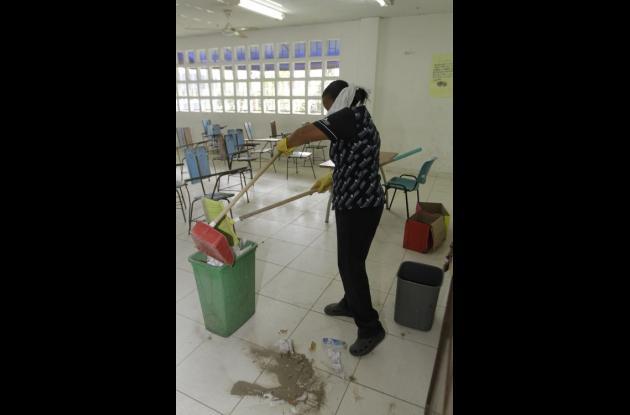 Servicio de aseo en colegios
