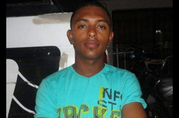 Breinel Gaviria, asesinado en Turbaco.