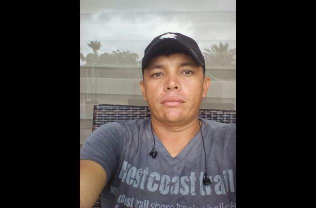 Julio Medina, asesinado.