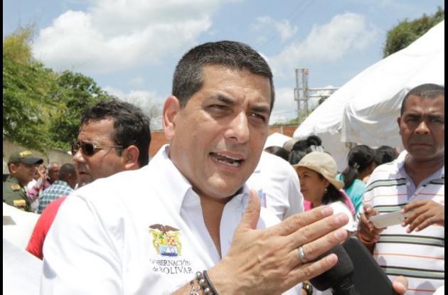 Dumek Turbay Paz, gobernador de Bolívar.