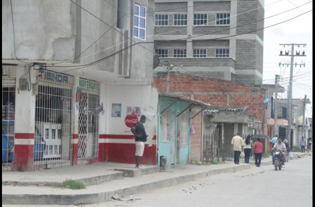 Santiago Abraham Martínez se habría enfrentado a la Policía en la calle Pedro Barrios del barrio Piedra de Bolívar.