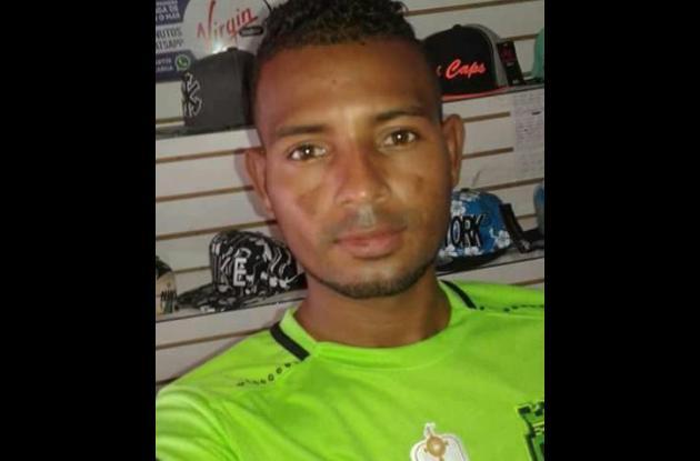 Yesid De la Rosa, procesado por homicidio de Luis Pasos.