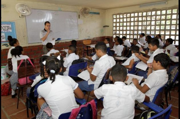 Clases en colegios oficiales