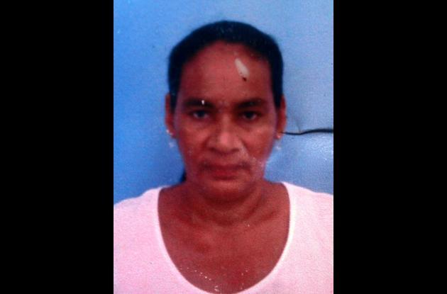 Dioselina Burgos, tendera asesinada en el barrio Policarpa.